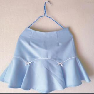 ハニーシナモン(Honey Cinnamon)のハニーシナモン 水色 ミニスカート(ミニスカート)