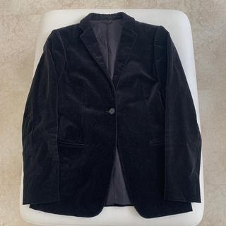ユナイテッドアローズ(UNITED ARROWS)のUNITED ARROWS  黒 別珍ジャケット(テーラードジャケット)
