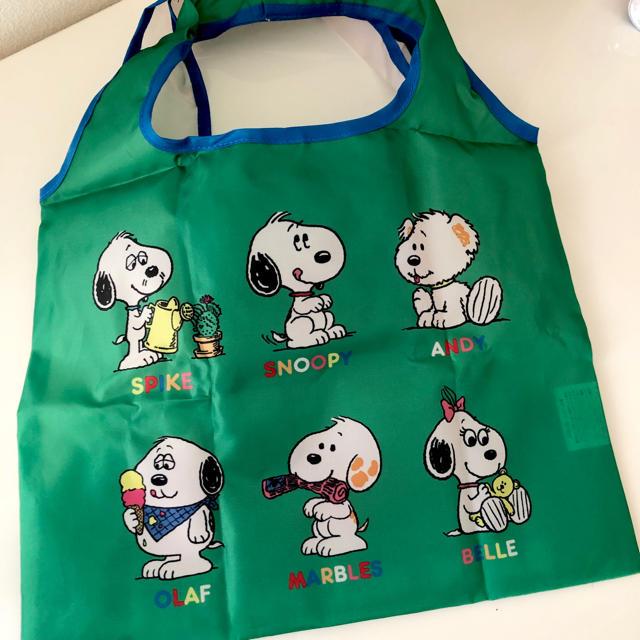 SNOOPY(スヌーピー)の新品 スヌーピー  エコバッグ レディースのバッグ(エコバッグ)の商品写真