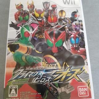 バンダイ(BANDAI)の仮面ライダー クライマックスヒーローズ オーズ Wii(家庭用ゲームソフト)