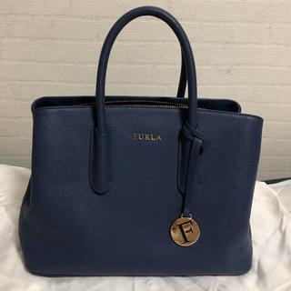 Furla - FURLA トートバッグ ハンドバッグ ブルー フルラ ショルダーバッグ