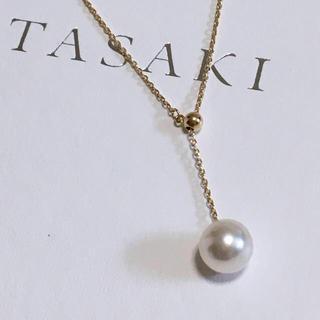 タサキ(TASAKI)の田崎真珠 タサキ TASAKI K18YG Yタイプ アコヤ真珠 ネックレス(ネックレス)