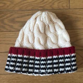 トゥモローランド(TOMORROWLAND)のtomorrowland ニット帽(ニット帽/ビーニー)