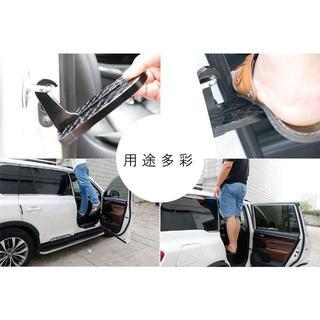○ドアステップ 折りたたみ式 ドアクライミングペダル 安全ハンマー
