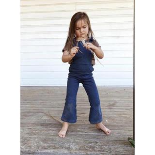 Caramel baby&child  - twincollective オーバーオールデニム 90