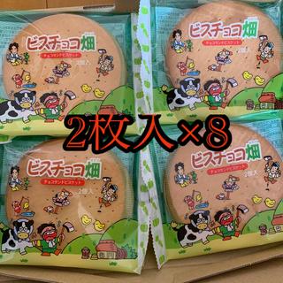 もち吉 ビスチョコ畑  2枚入×8個(菓子/デザート)