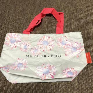 マーキュリーデュオ(MERCURYDUO)の新品未使用 雑誌付録 MERCURYDUO ミニバッグ(エコバッグ)