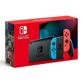 ニンテンドウ(任天堂)の新品未開封 Nintendo Switch 本体 ネオンブルー ネオンレッド(家庭用ゲーム機本体)