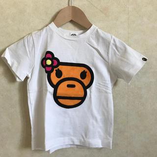 アベイシングエイプ(A BATHING APE)のAPE KIDS Tシャツ 110サイズ(Tシャツ/カットソー)