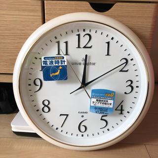 カシオ(CASIO)のカシオ 電波時計 壁掛け時計(掛時計/柱時計)