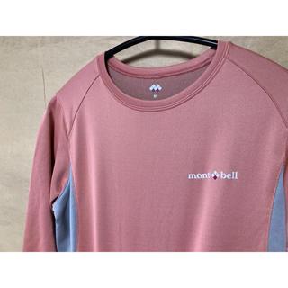 モンベル(mont bell)のモンベル  長袖Tシャツ M ピンク(Tシャツ(長袖/七分))