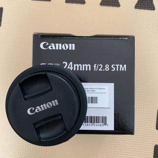 Canon - 単焦点 パンケーキレンズ Canon EF-S24mm F2.8 STM