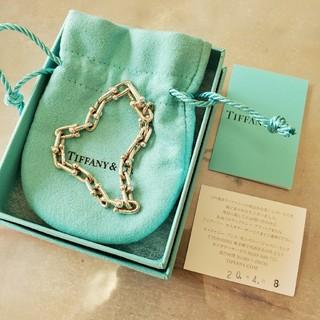 ティファニー(Tiffany & Co.)の♡ほぼ未使用♡ Tiffany ティファニー ハードウェア リンク ブレス(ブレスレット/バングル)