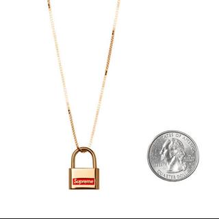 Supreme - Supreme Jacob&Co. 14K Gold Lock Pendant