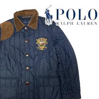 ポロラルフローレン(POLO RALPH LAUREN)のポロ ラルフローレン レディース キルティングジャケット 11号 L POLO (ブルゾン)