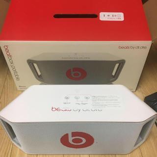 ビーツバイドクタードレ(Beats by Dr Dre)のBeats portableスピーカー beatsbox(スピーカー)