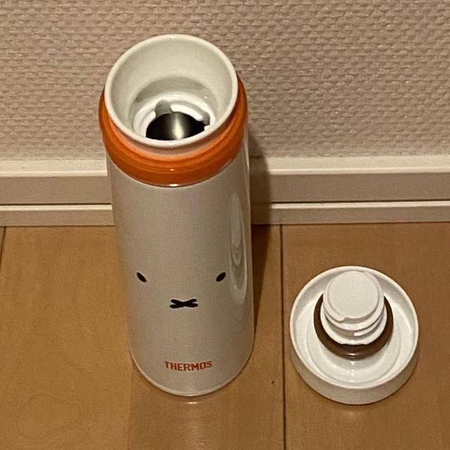 THERMOS(サーモス)の【希少】サーモス真空断熱ケータイマグJNO-351Bミフィ キッズ/ベビー/マタニティの授乳/お食事用品(水筒)の商品写真
