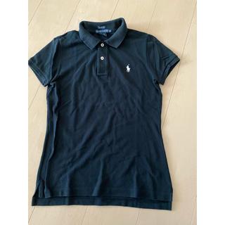 Ralph Lauren - ポロラルフローレン ポロシャツ ブラック レディースL 黒 半袖