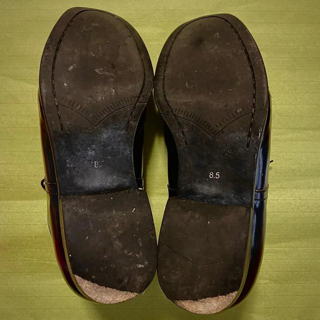 UNITED ARROWS(ユナイテッドアローズ)のユナイテッドアローズ 革靴 ラウンド・トゥ メンズの靴/シューズ(ドレス/ビジネス)の商品写真