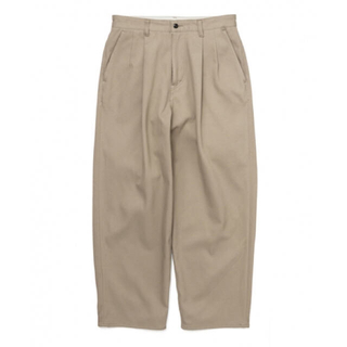 1LDK SELECT - Graphpaper hard twill two tuck pants