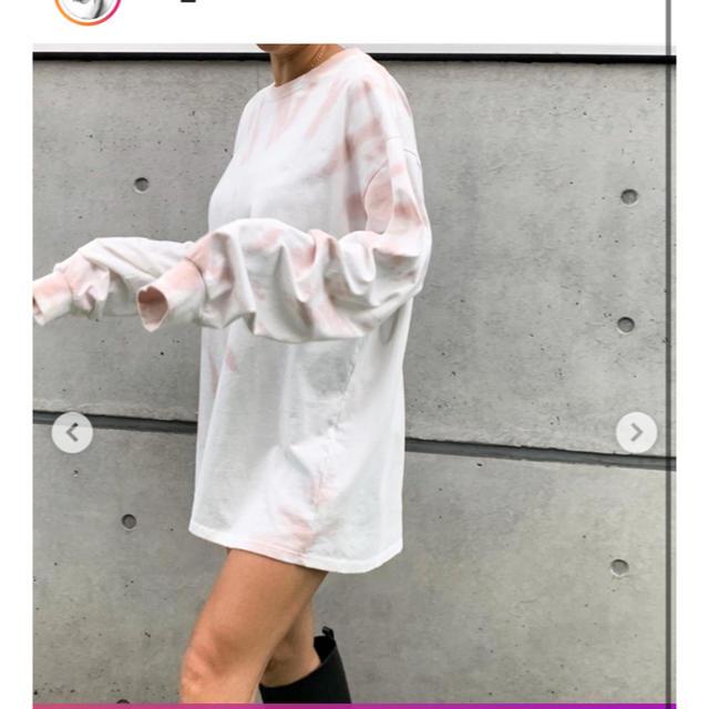 SeaRoomlynn(シールームリン)の最終値下げ❗️タイダイコットンロンT レディースのトップス(Tシャツ(長袖/七分))の商品写真