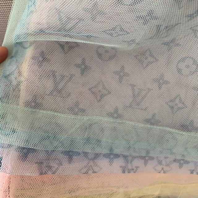 LOUIS VUITTON(ルイヴィトン)のLOUIS VUITTON ルイヴィトン メッシュトップス モノグラム チュール レディースのトップス(Tシャツ(半袖/袖なし))の商品写真