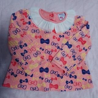 フタフタ(futafuta)のフタフタ 110cm キティちゃんトップス 綿100%(Tシャツ/カットソー)