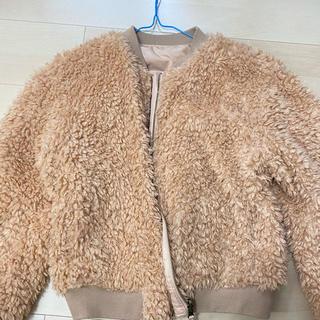 ウィゴー(WEGO)のファーコート プードルコート(毛皮/ファーコート)