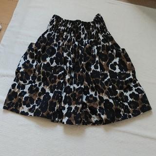 tiara - Tiara レオパード柄スカート