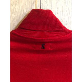 最終値下げ イギリスブランドほぼ未使用タートルネック 赤(ニット/セーター)
