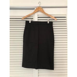 ドゥロワー(Drawer)のDrawer   タイトスカート 黒(ひざ丈スカート)