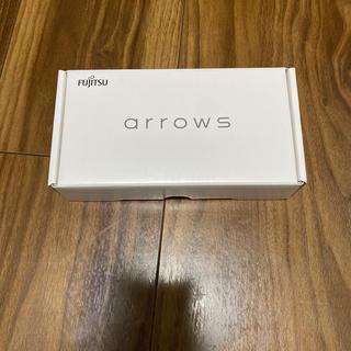 フジツウ(富士通)のFujitsu arrowsRX ホワイト 新品未使用(スマートフォン本体)