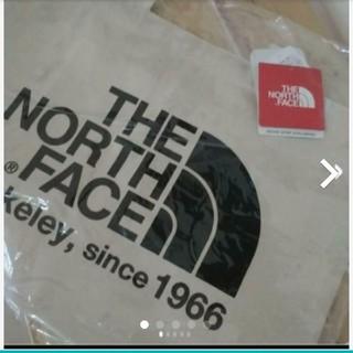 ザノースフェイス(THE NORTH FACE)の【新品】ノースフェイス オーガニックコットン トートバッグ (black)(トートバッグ)