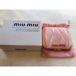 miumiu - miumiu ミュウミュウノベルティ ー ピンク ミラー