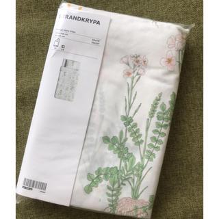 イケア(IKEA)のIKEA植物柄布団カバー&枕カバー(シーツ/カバー)