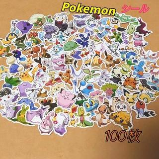 ポケモン(ポケモン)のポケモンシール かわいいランキング100(シール)