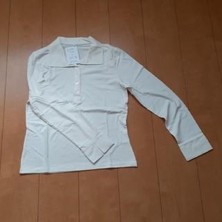 ニッセン(ニッセン)のニッセン 襟付き カットソー Lサイズ(カットソー(長袖/七分))
