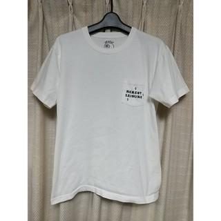 ビームス(BEAMS)のBEAMST 半袖Tシャツ 白 ビームスティー セレクト アメカジ サーフ 古着(Tシャツ/カットソー(半袖/袖なし))