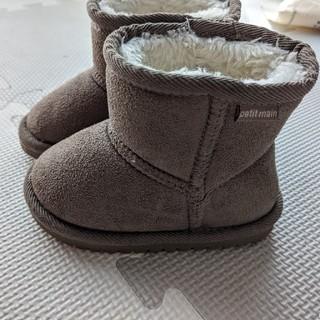 プティマイン(petit main)のプチマイン ブーツ 13センチ(ブーツ)