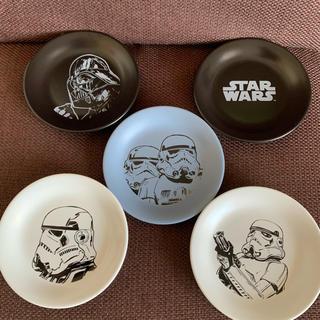 star wars  スターウォーズ 食器 小皿5枚セット 新品未使用(食器)