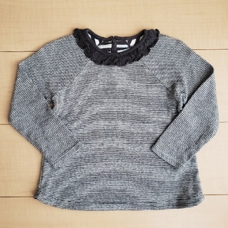 プチバトー(PETIT BATEAU)のプチバトー カットソー プルオーバー ミラレ 95cm(Tシャツ/カットソー)