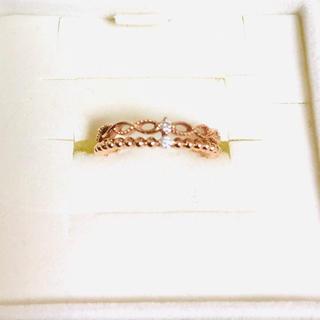 ノジェス(NOJESS)のリング 指輪 ピンキーリング ピンクゴールド 1号 A.D.A(リング(指輪))