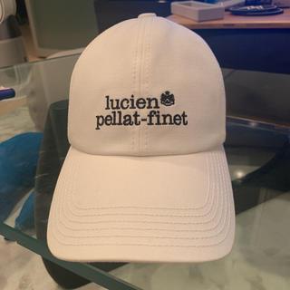 ルシアンペラフィネ(Lucien pellat-finet)のルシアンペラフィネ白キャップ 帽子(キャップ)