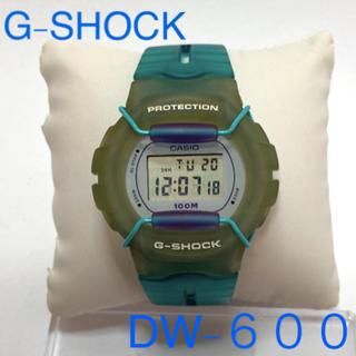 ジーショック(G-SHOCK)のG-SHOCK DW-600 美品(腕時計)
