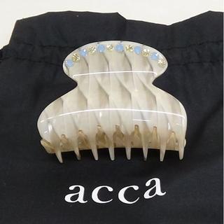 acca - ACCA ヘアクリップ 未使用品です。