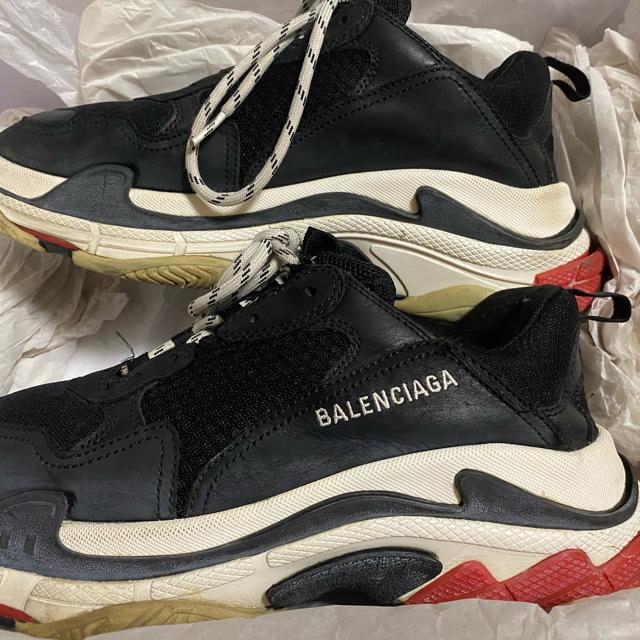 Balenciaga(バレンシアガ)のバレンシアガ triples 42 格安出品 メンズの靴/シューズ(スニーカー)の商品写真