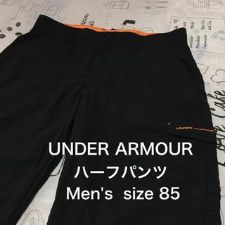 アンダーアーマー(UNDER ARMOUR)の【レア】古着 UNDER ARMOUR ショートパンツ ブラック size 85(ショートパンツ)