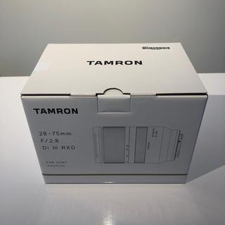【国内正規品】タムロン 28-75mm F/2.8 Di III RXD