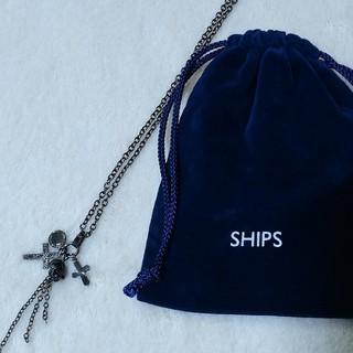シップス(SHIPS)の【SHIPS シップス】スカル+クロス ネックレス(ネックレス)
