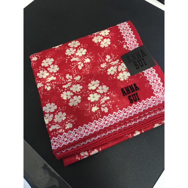 ANNA SUI(アナスイ)のANNA SUI ハンカチ 新品未使用 レディースのファッション小物(ハンカチ)の商品写真